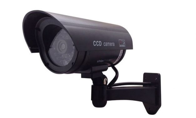 Outdoor Fake Dummy Security Camera Can Help