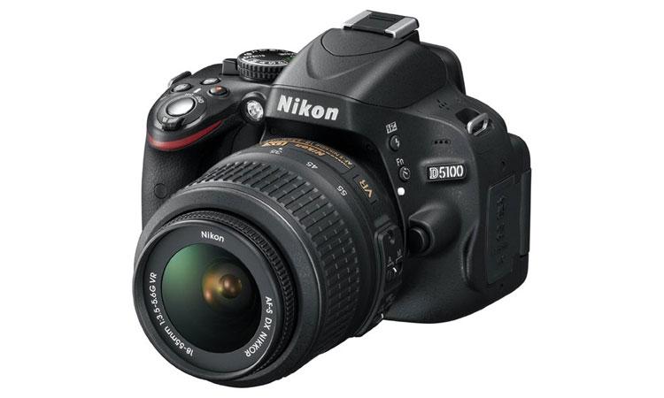 Nikon D5100 16.2MP CMOS Digital SLR Camera