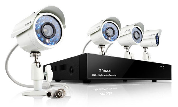 The Hi Tech Crystal Clear Zmodo Security DVR Kit